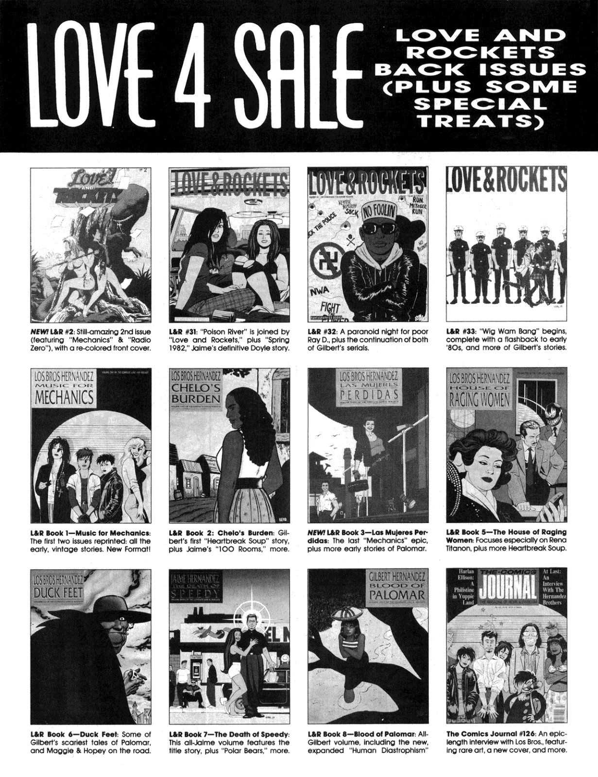 Love and Rockets (1982) Issue #34 #32 - English 34