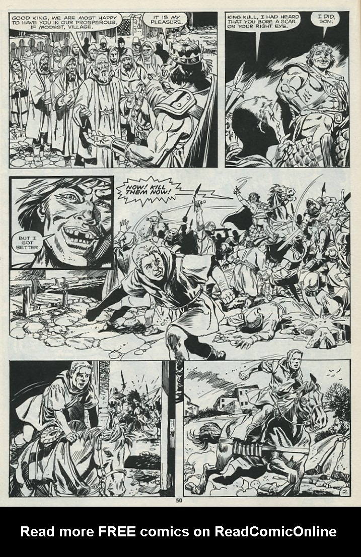 The Savage Sword Of Conan Issue #182 #183 - English 52