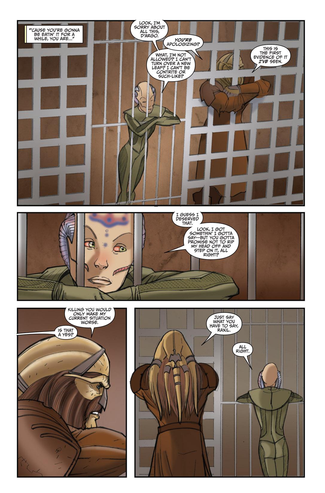 Read online Farscape: D'Argo's Quest comic -  Issue #4 - 8
