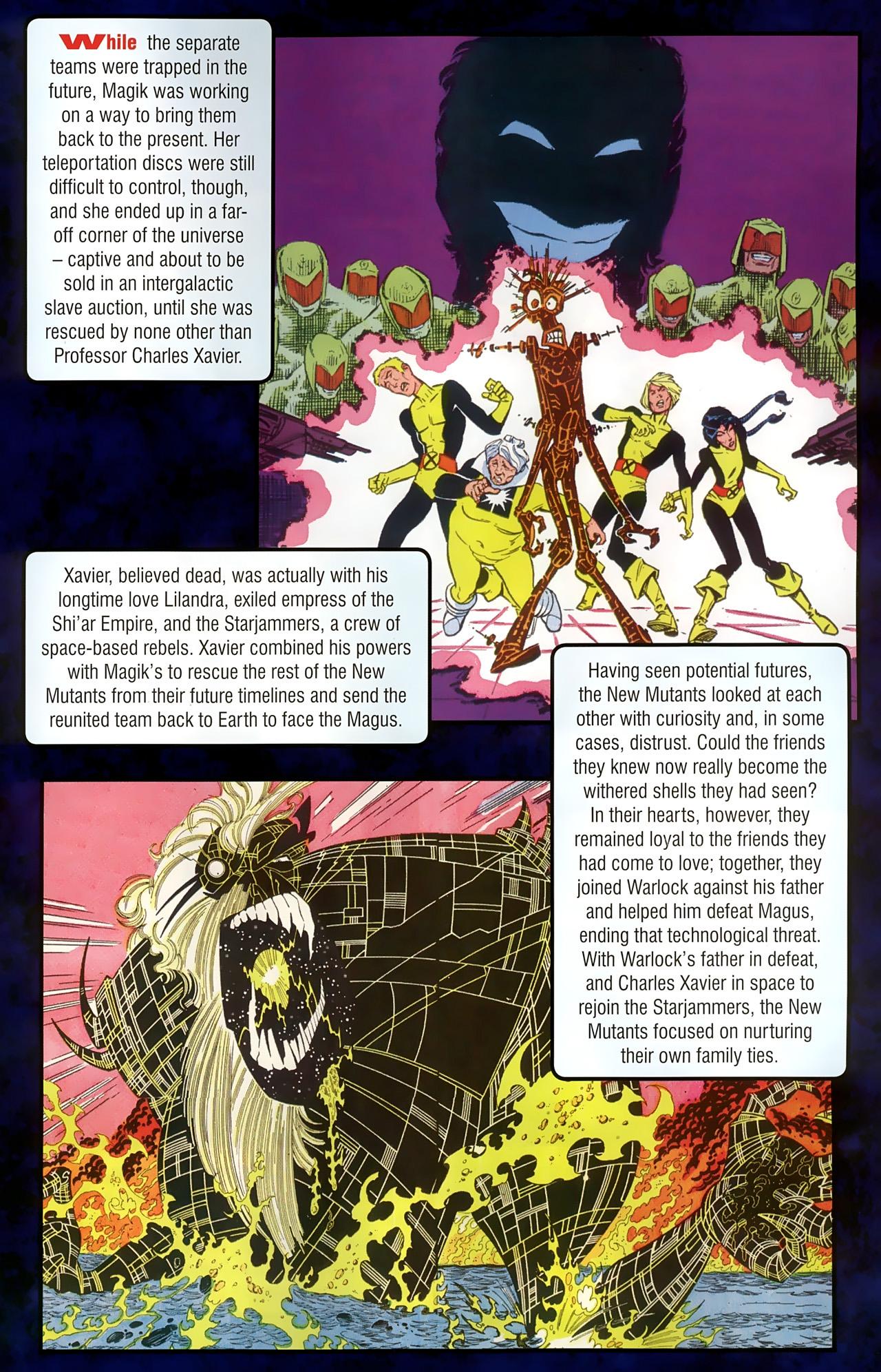 Read online New Mutants Saga comic -  Issue # Full - 25
