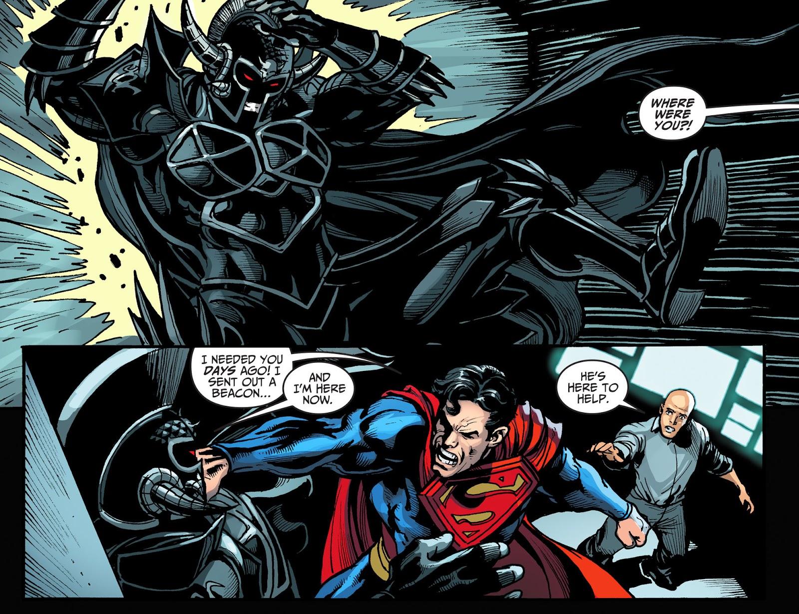 Injustice: Gods Among Us Year Four Issue #16 #17 - English 17