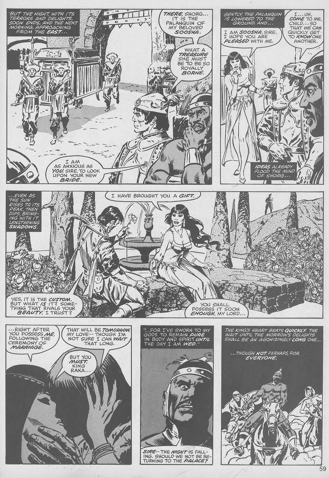 The Savage Sword Of Conan Issue #49 #50 - English 59