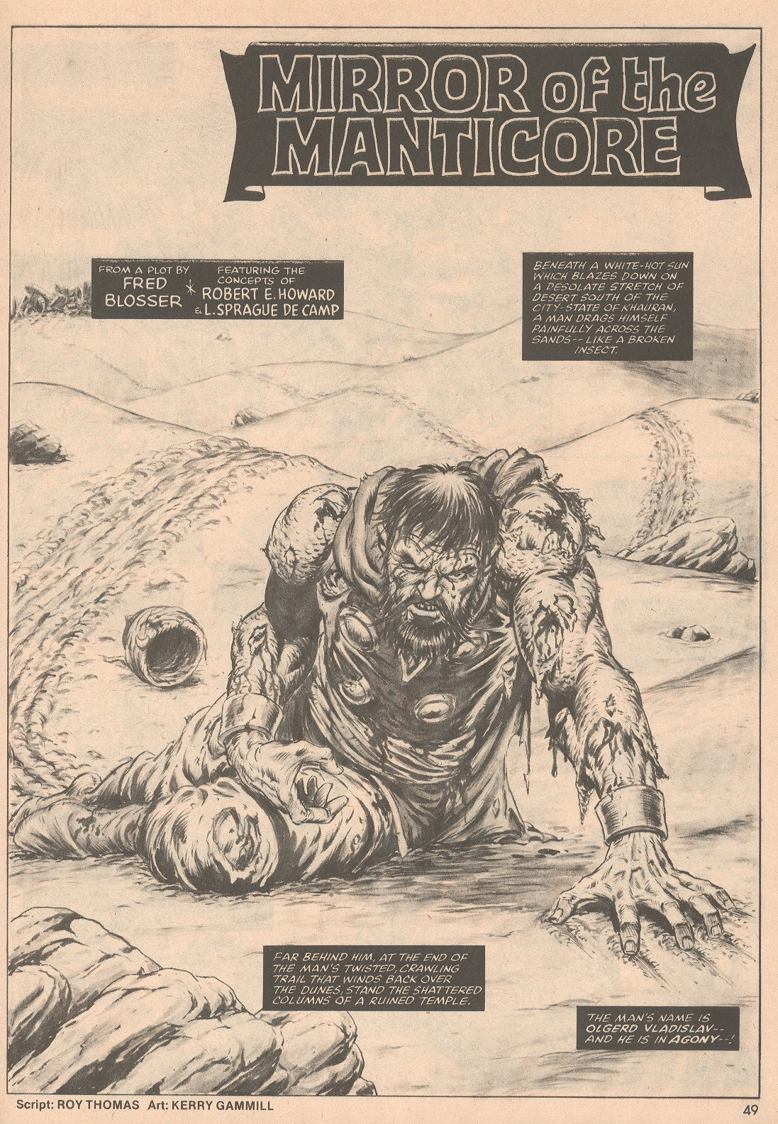 The Savage Sword Of Conan Issue #58 #59 - English 50