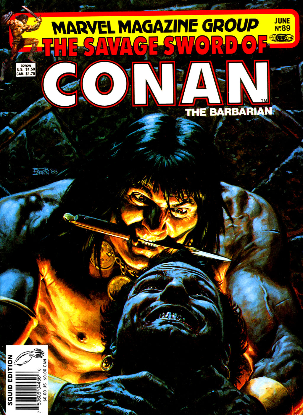 The Savage Sword Of Conan Issue #89 #90 - English 1