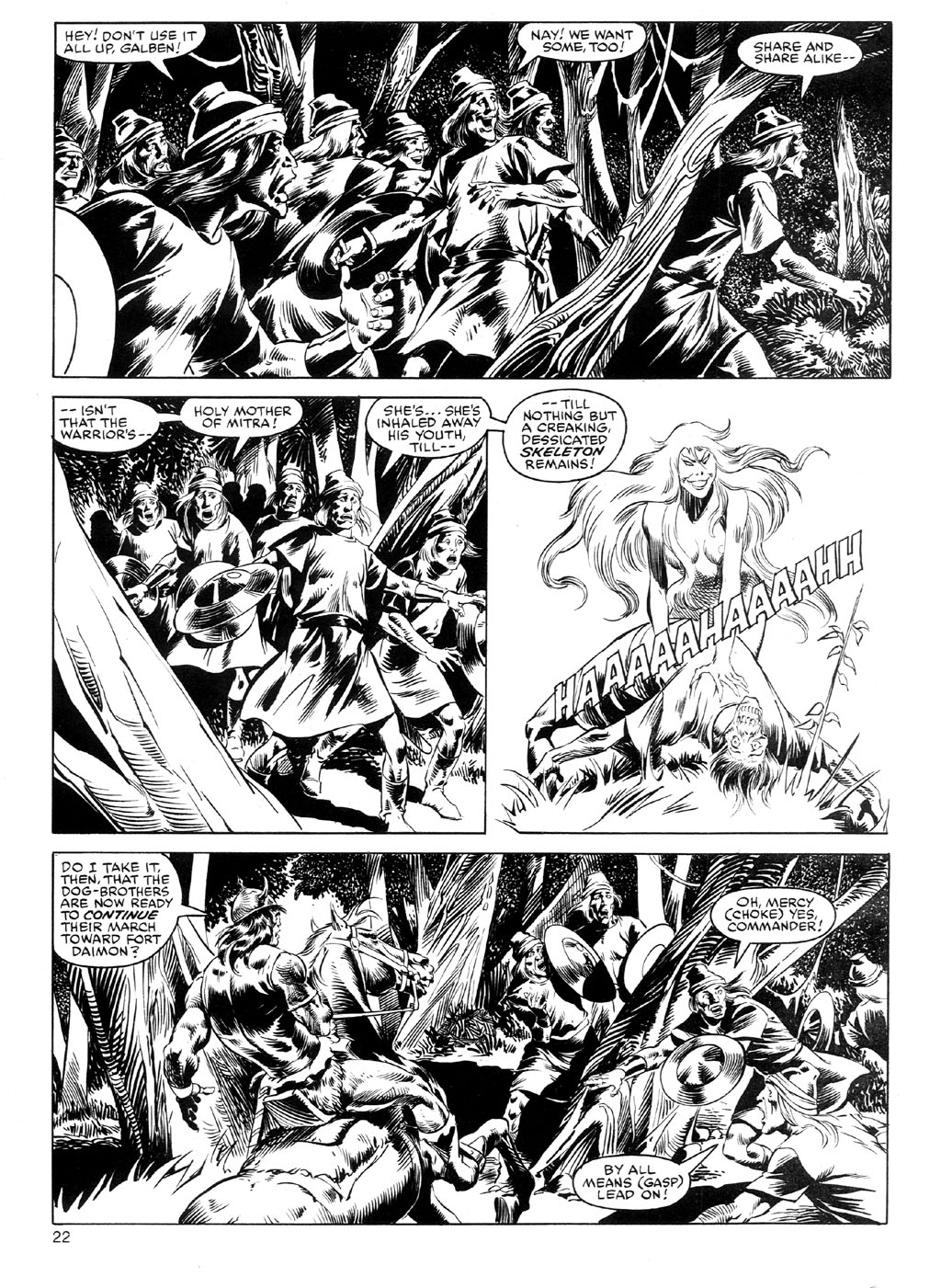 The Savage Sword Of Conan Issue #91 #92 - English 21