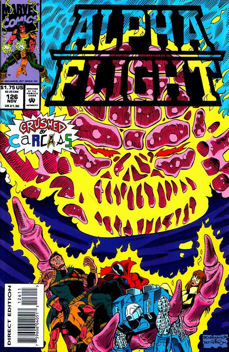 Alpha Flight (1983) 126 Page 1