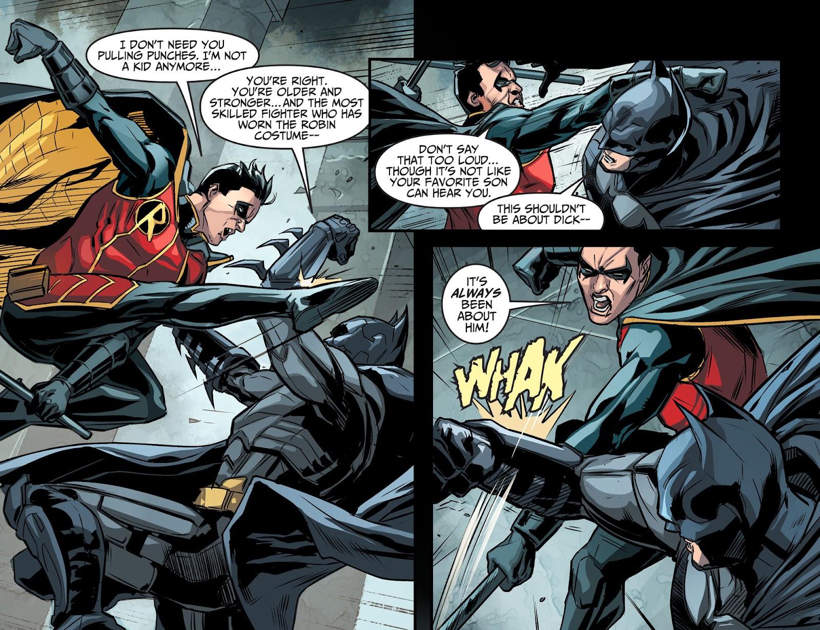 Injustice: Gods Among Us Year Four Issue #14 #15 - English 12