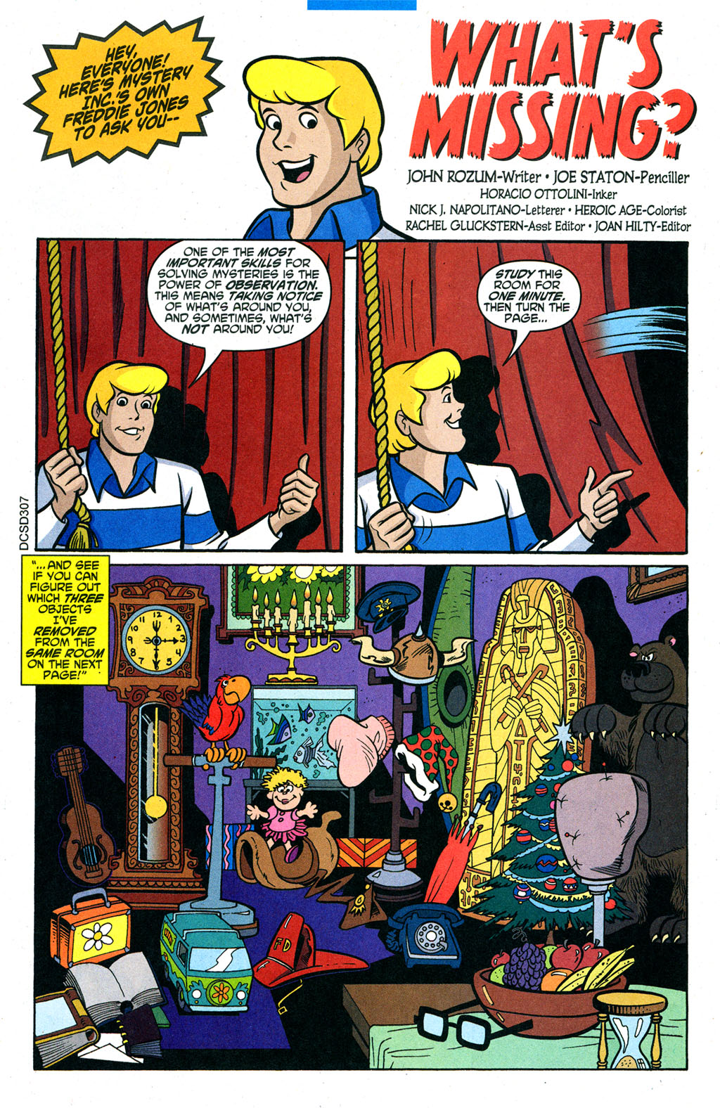 Read online Scooby-Doo (1997) comic -  Issue #95 - 18