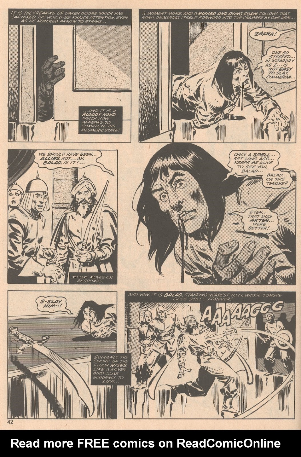 The Savage Sword Of Conan Issue #58 #59 - English 43