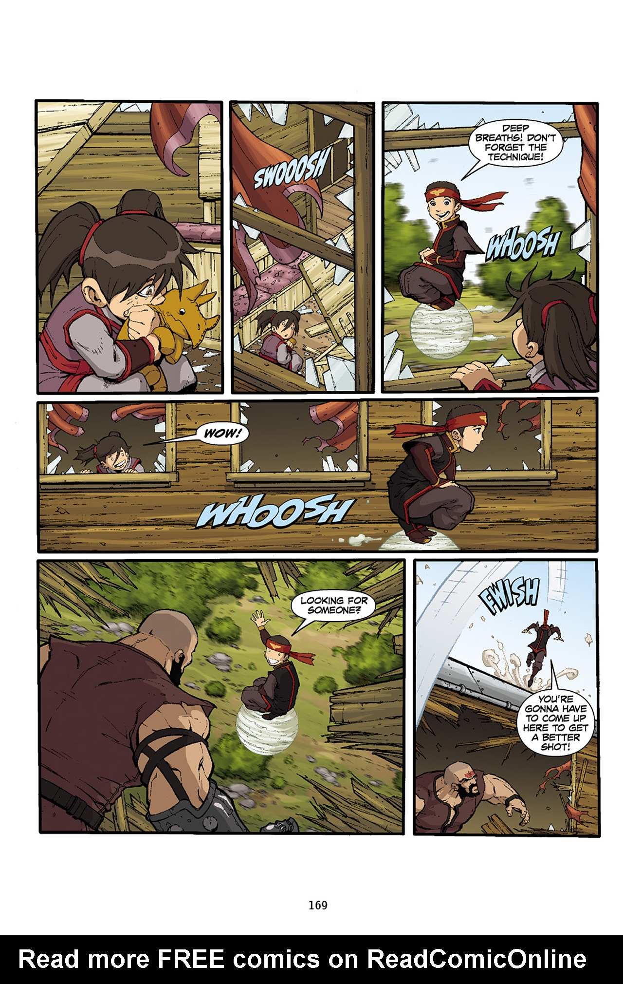 Nickelodeon Avatar: The Last Airbender - The Lost Adventures chap full pic 170