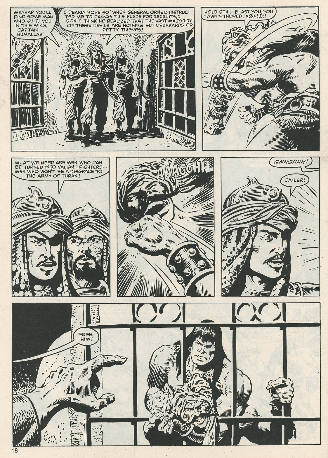 The Savage Sword Of Conan Issue #112 #113 - English 18