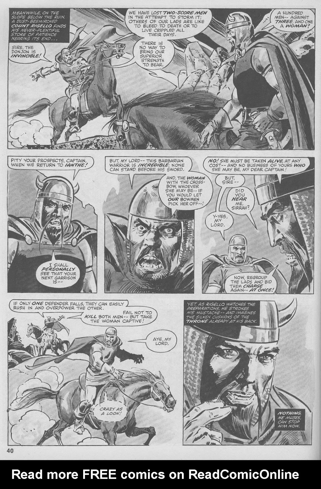 The Savage Sword Of Conan Issue #44 #45 - English 40