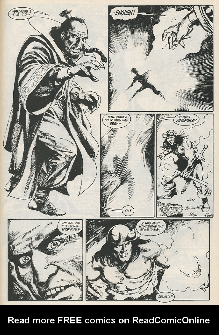 The Savage Sword Of Conan Issue #189 #190 - English 41