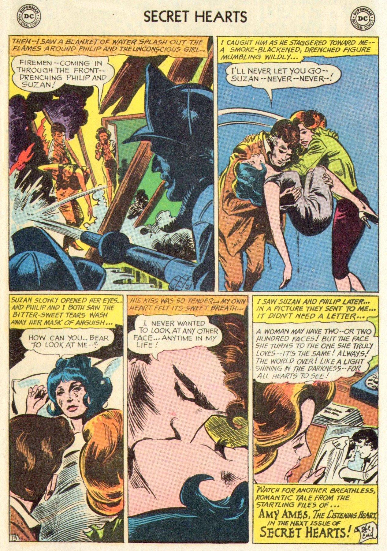 Read online Secret Hearts comic -  Issue #104 - 33