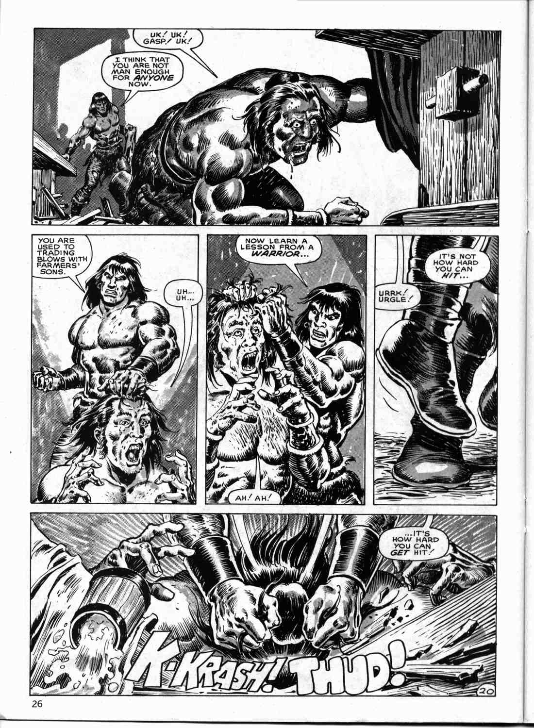 The Savage Sword Of Conan Issue #133 #134 - English 25