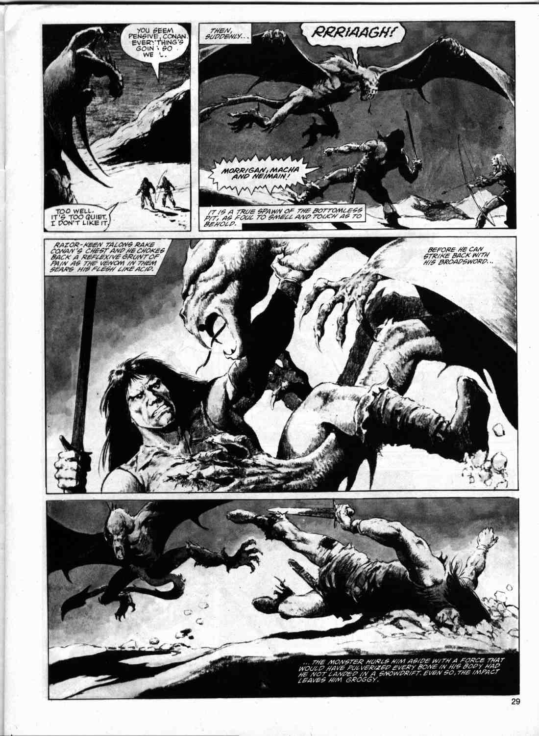 The Savage Sword Of Conan Issue #74 #75 - English 28