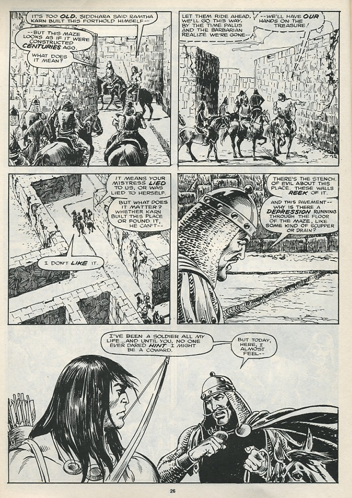 The Savage Sword Of Conan Issue #174 #175 - English 28