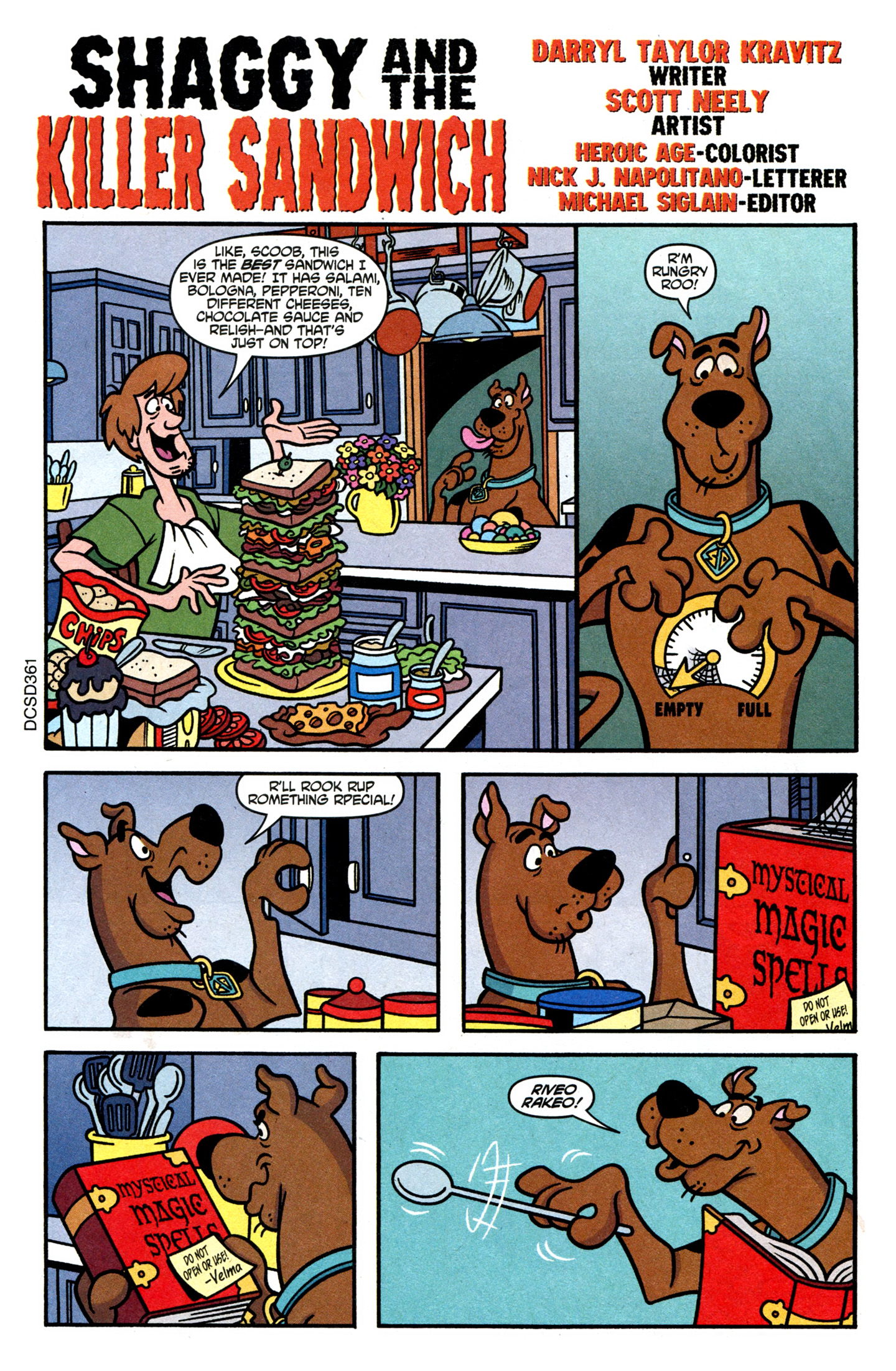Read online Scooby-Doo (1997) comic -  Issue #107 - 14