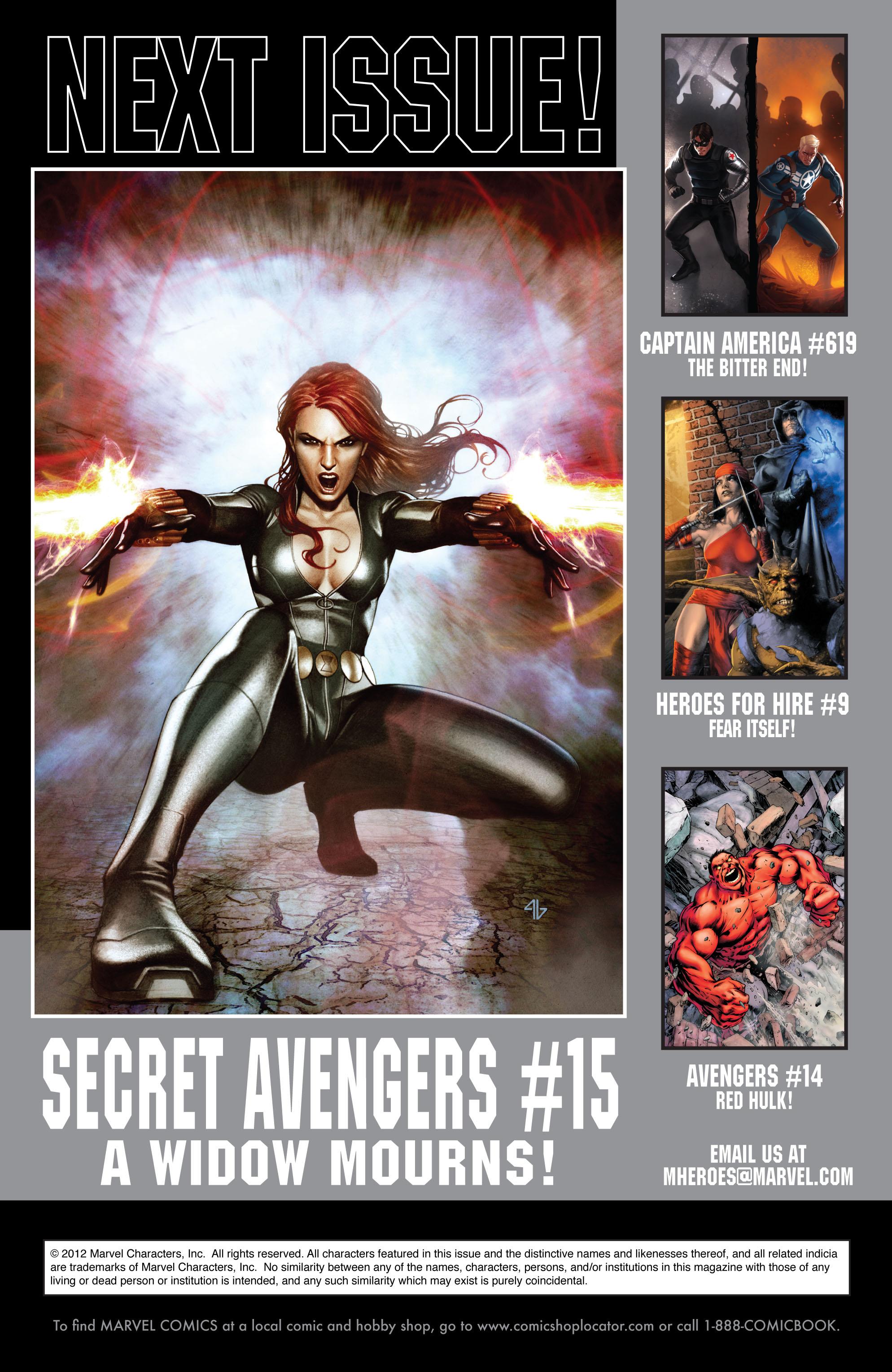 Read online Secret Avengers (2010) comic -  Issue #14 - 24