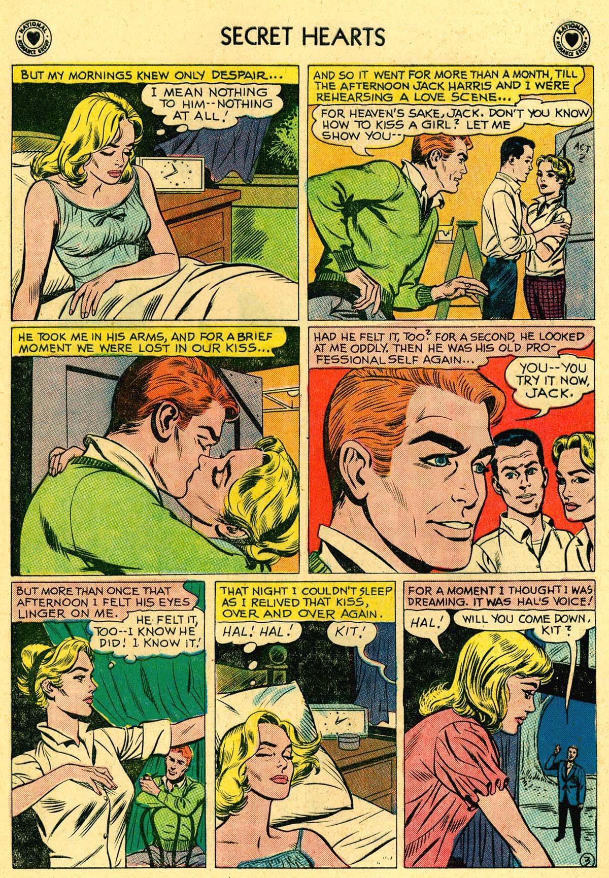 Read online Secret Hearts comic -  Issue #62 - 20