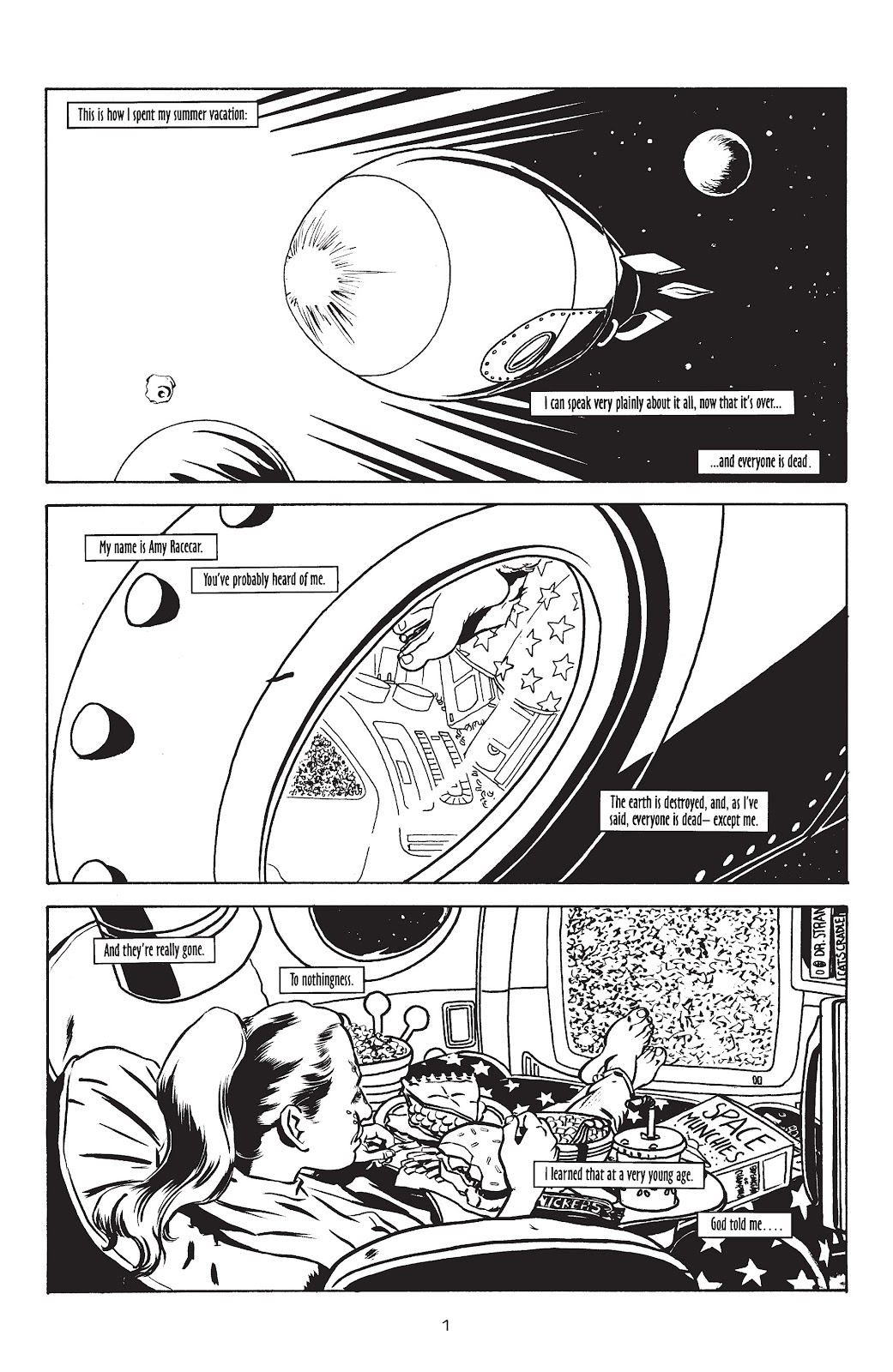Stray Bullets Issue #6 #6 - English 3