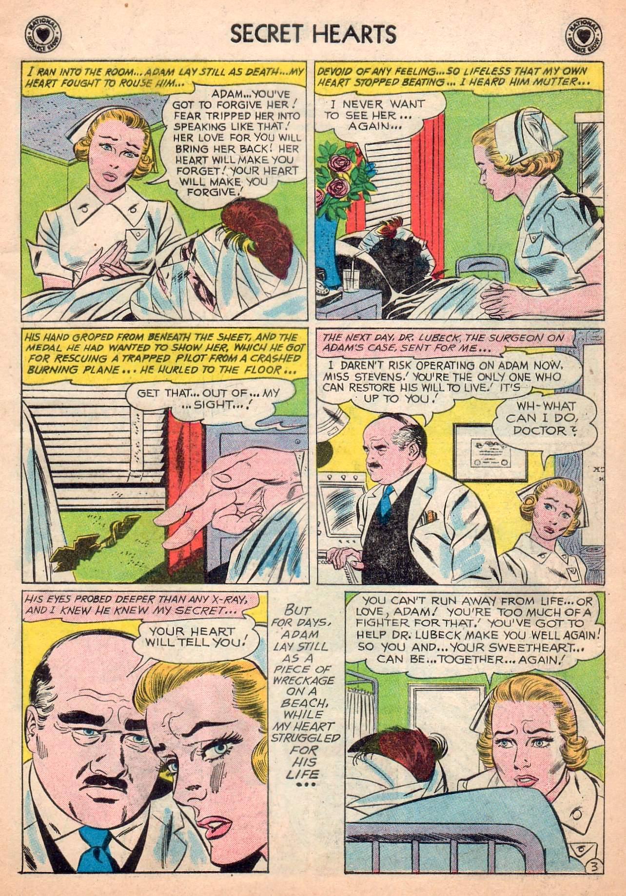 Read online Secret Hearts comic -  Issue #63 - 29