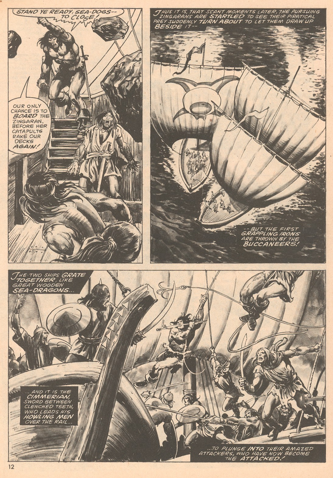 The Savage Sword Of Conan Issue #67 #68 - English 12