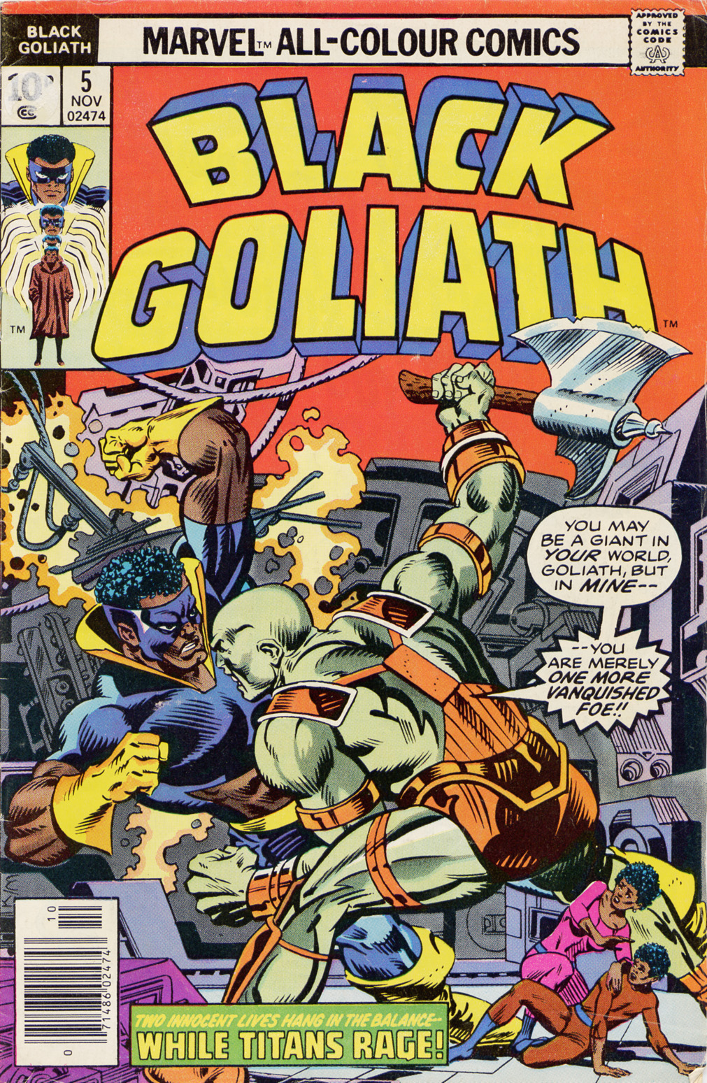 Black Goliath 5 Page 1
