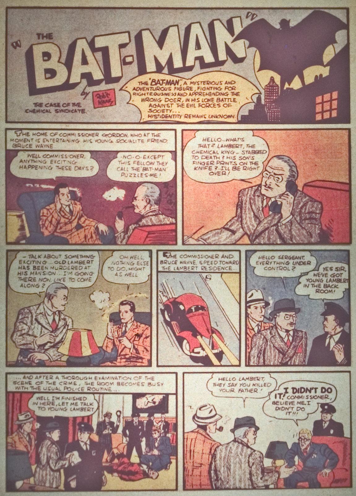 Detective Comics (1937) 27 Page 3