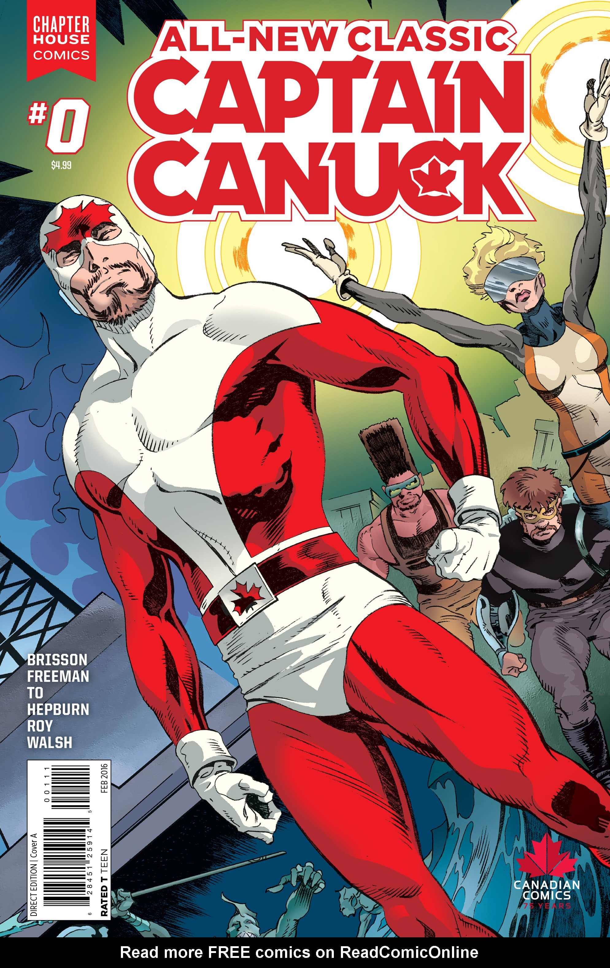All-New Classic Captain Canuck 0 Page 1
