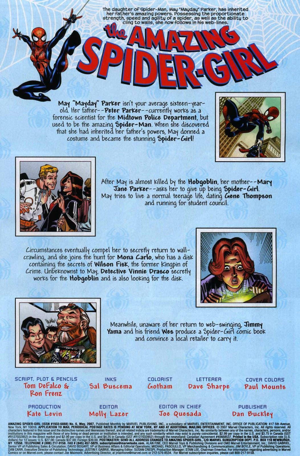 Amazing Spider-Girl Issue #6 #7 - English 2