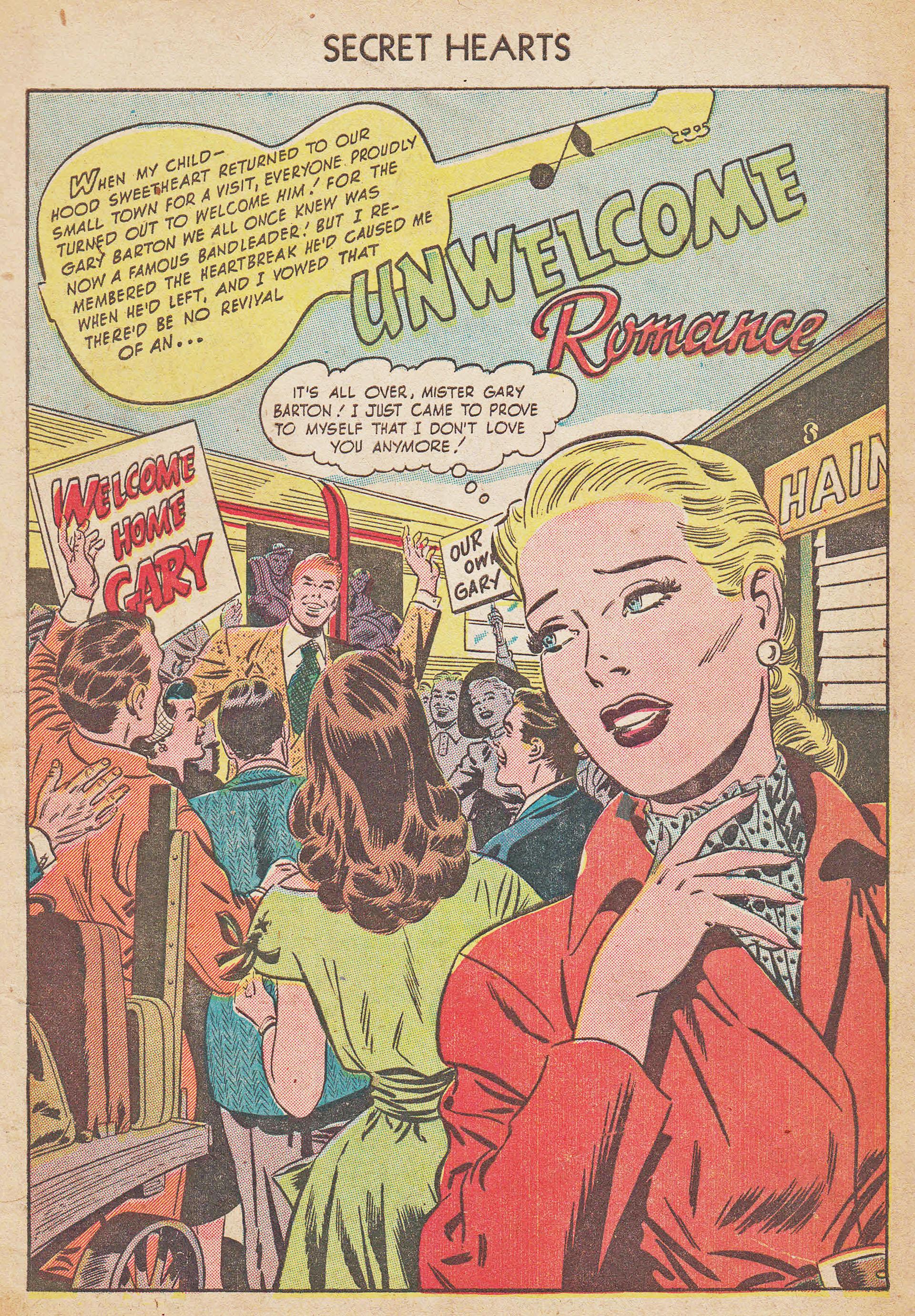 Read online Secret Hearts comic -  Issue #7 - 3