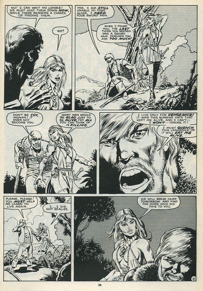 The Savage Sword Of Conan Issue #172 #173 - English 31