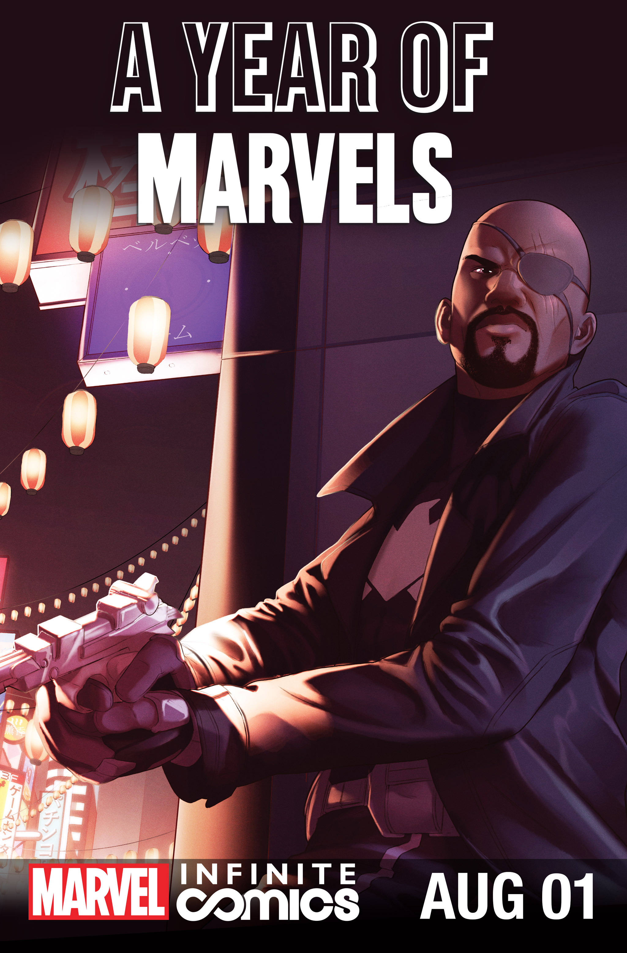 A Year Of Marvels: August Infinite Comic Full Page 1