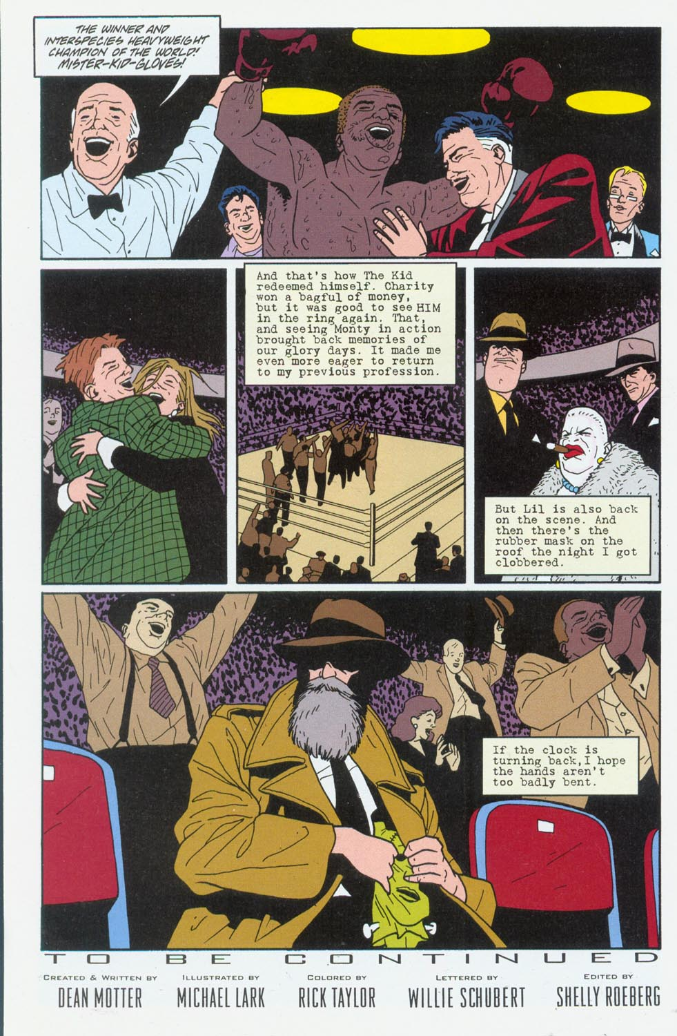 Read online Terminal City comic -  Issue #6 - 25
