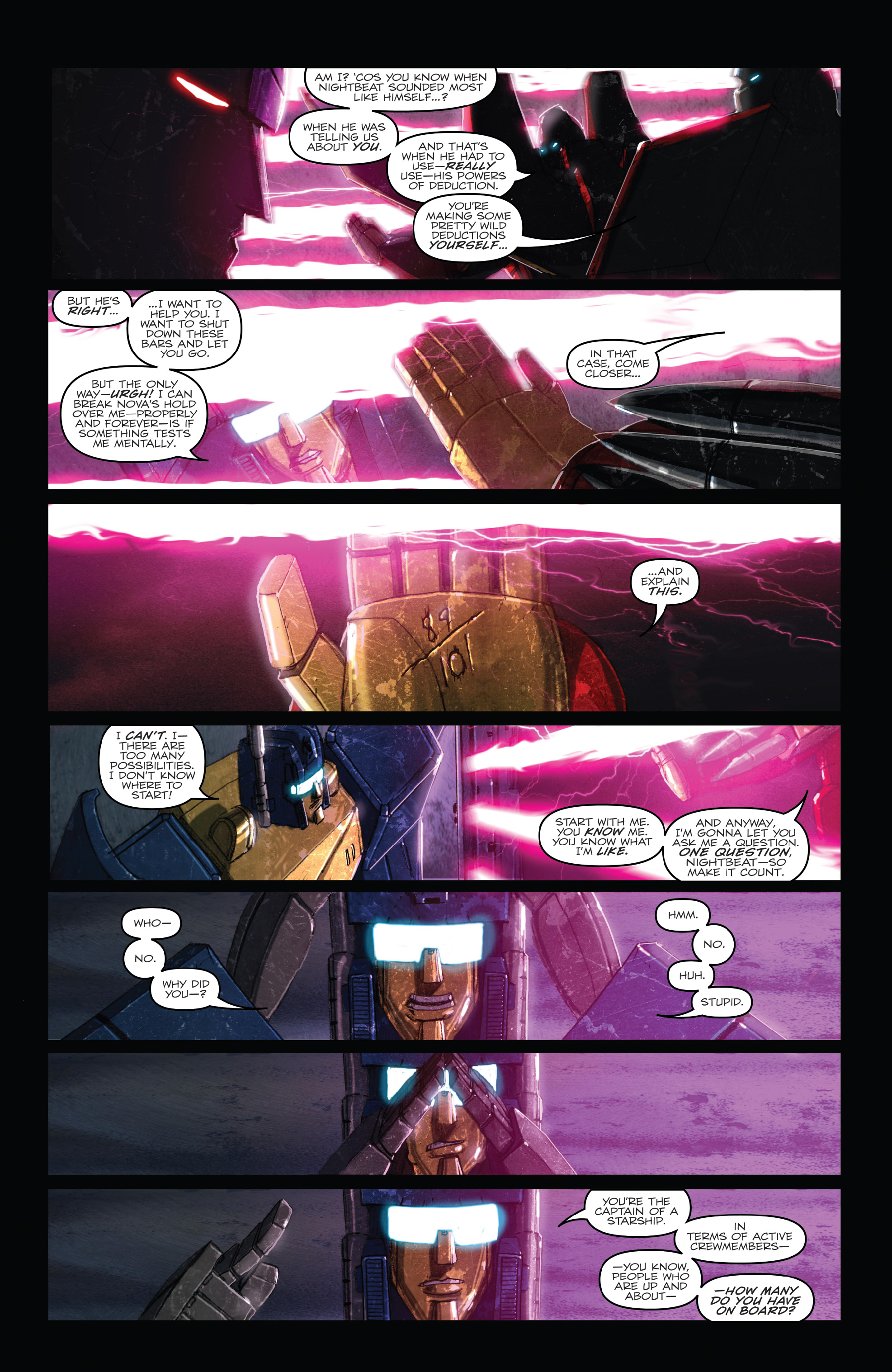 Read online The Transformers: Dark Cybertron Finale comic -  Issue # Full - 18