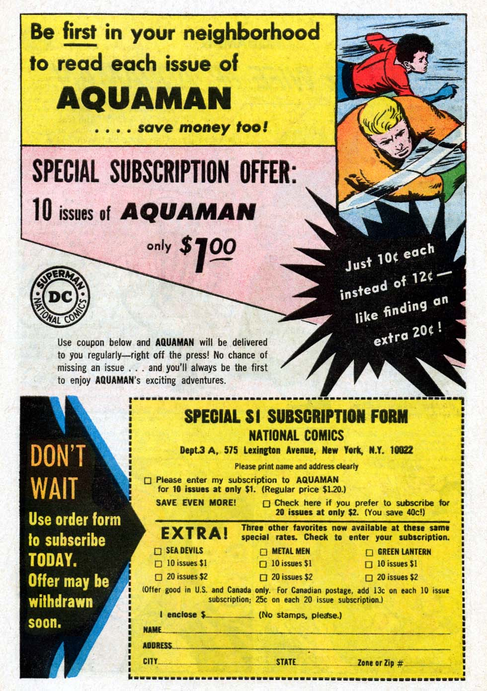 Aquaman (1962) Issue #18 #18 - English 23