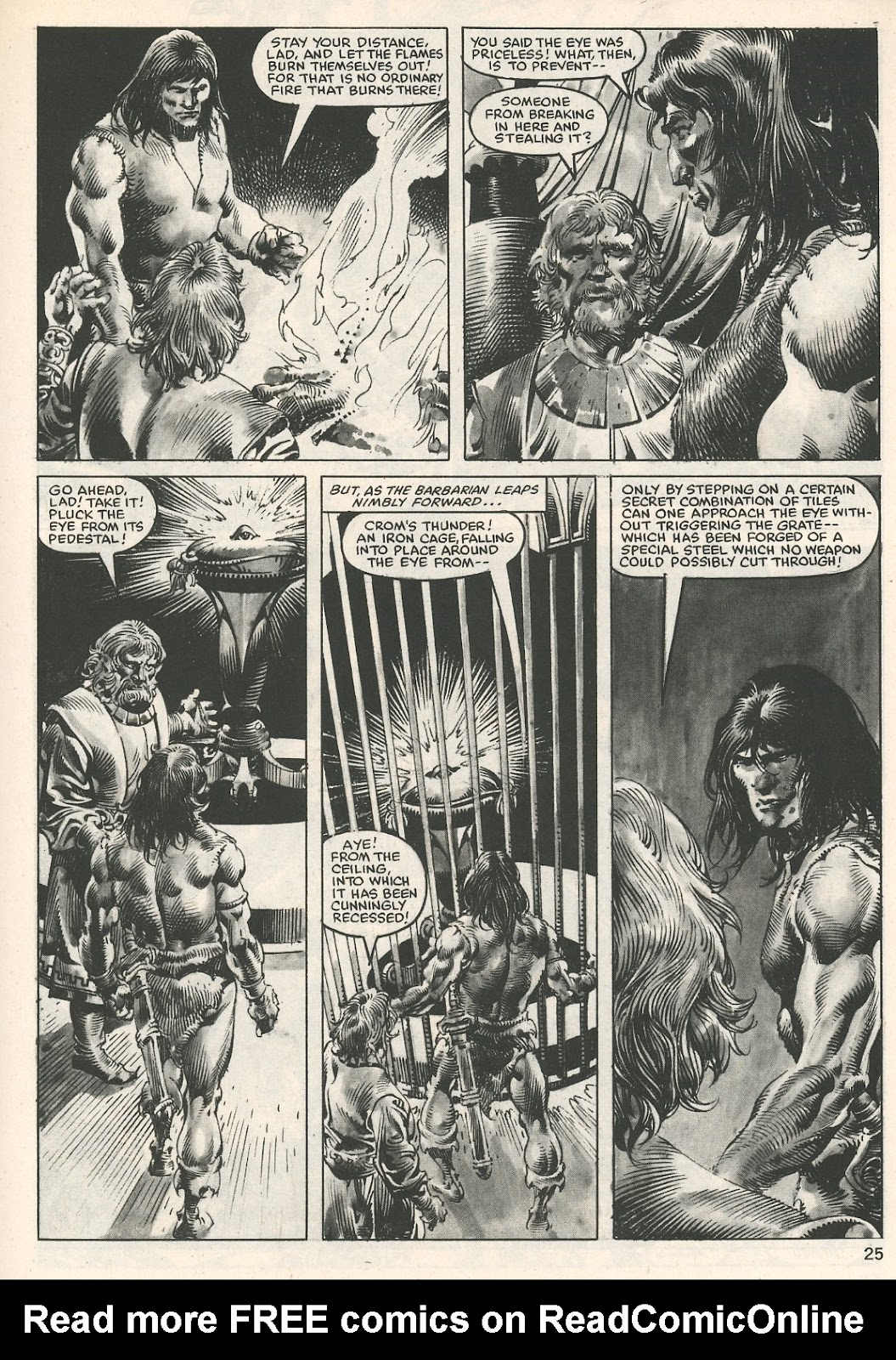 The Savage Sword Of Conan Issue #107 #108 - English 25
