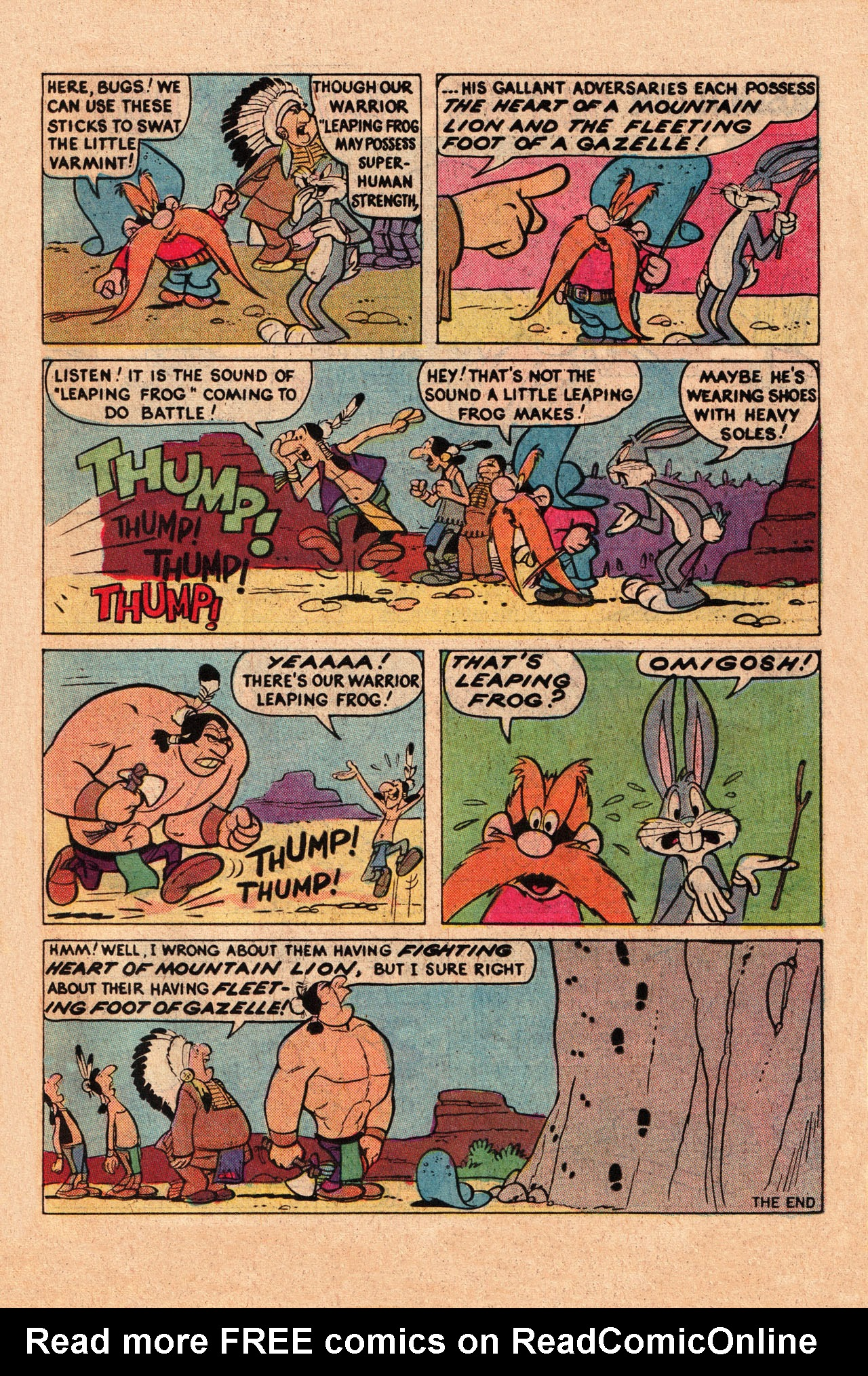 Yosemite Sam and Bugs Bunny chap 78 pic 15