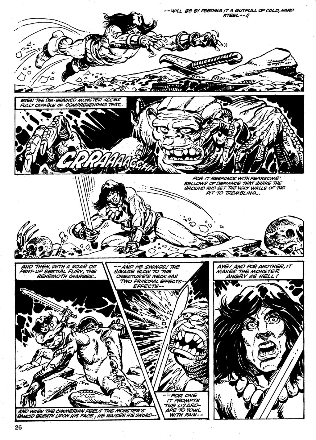The Savage Sword Of Conan Issue #86 #87 - English 26