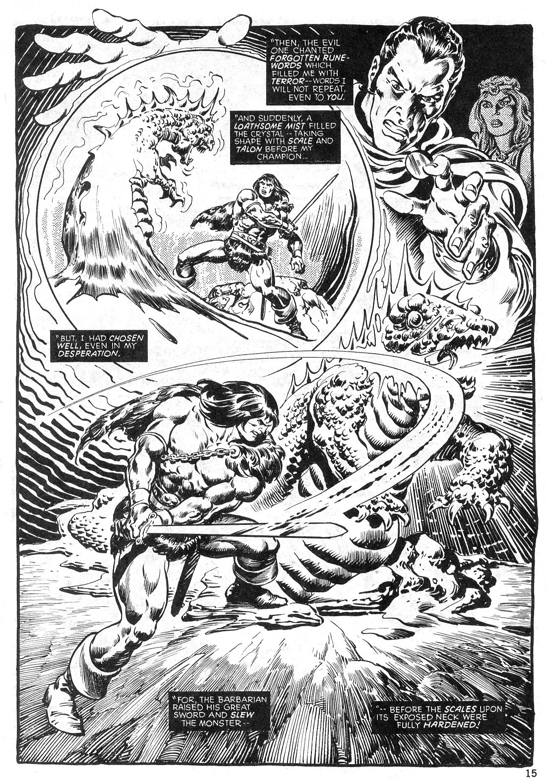 The Savage Sword Of Conan Issue #29 #30 - English 15