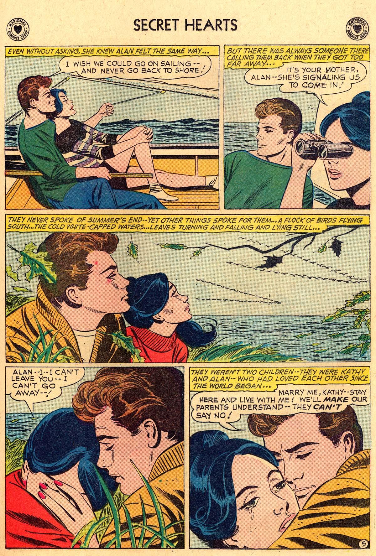 Read online Secret Hearts comic -  Issue #69 - 7