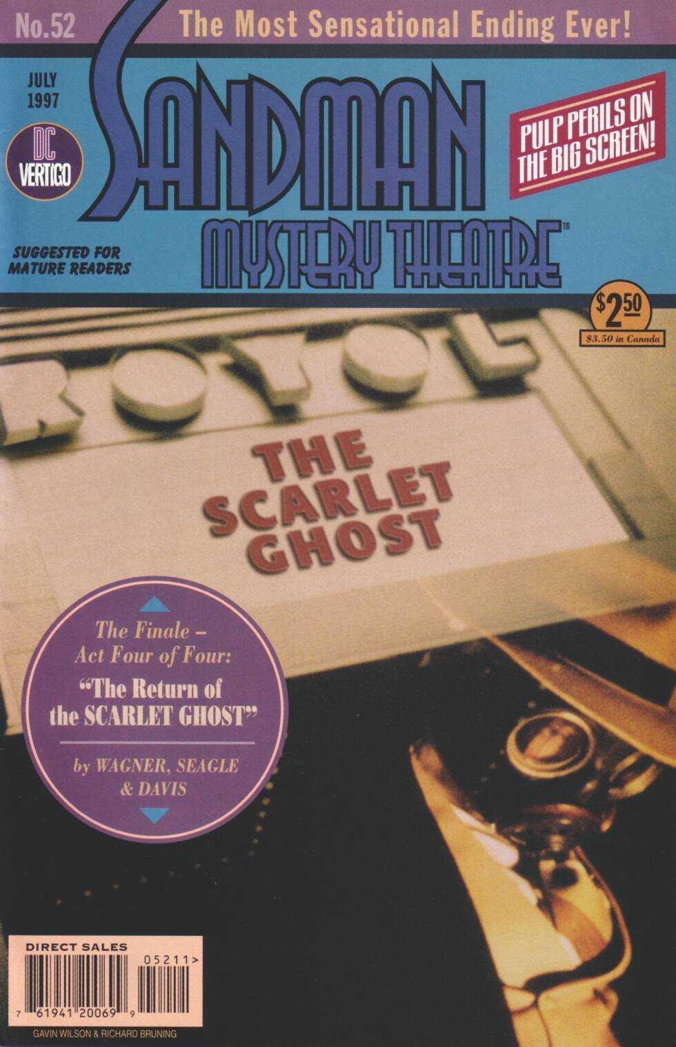 Sandman Mystery Theatre 52 Page 1