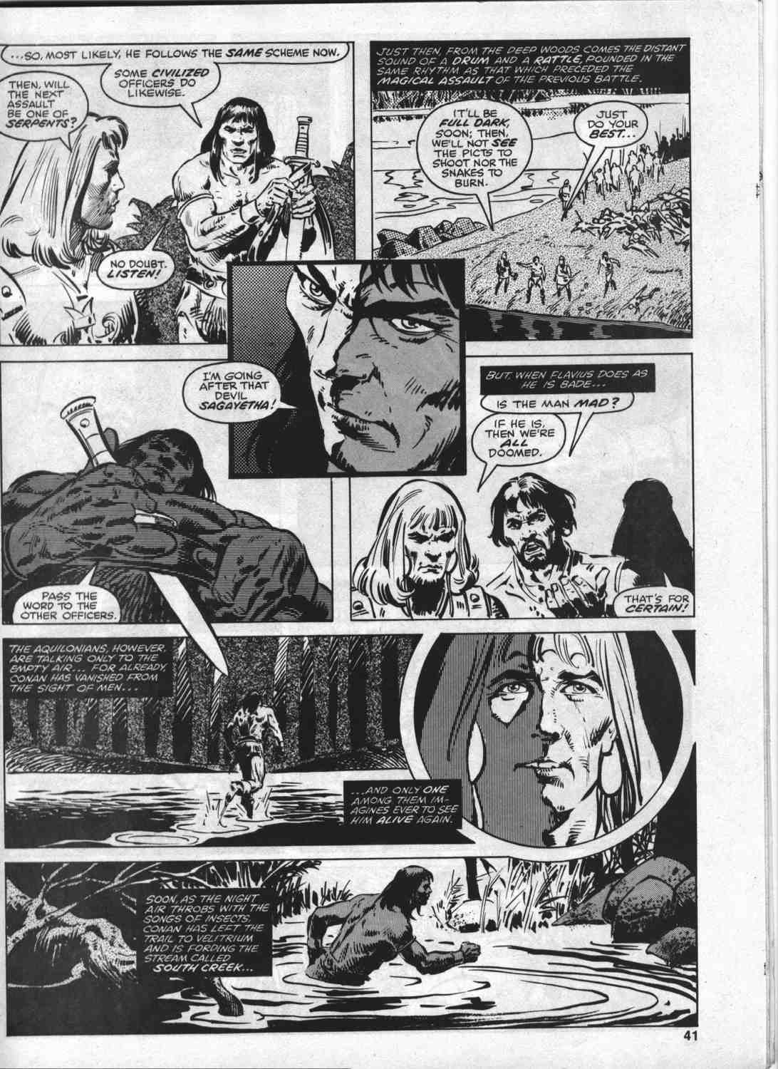 The Savage Sword Of Conan Issue #46 #47 - English 40