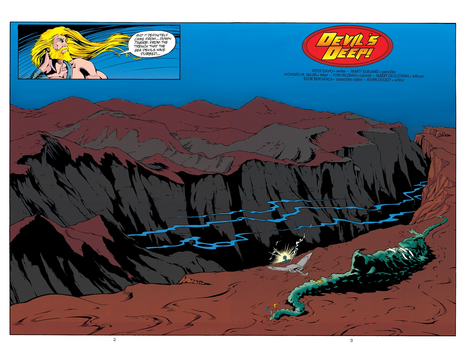 Aquaman (1994) Issue #29 #35 - English 3