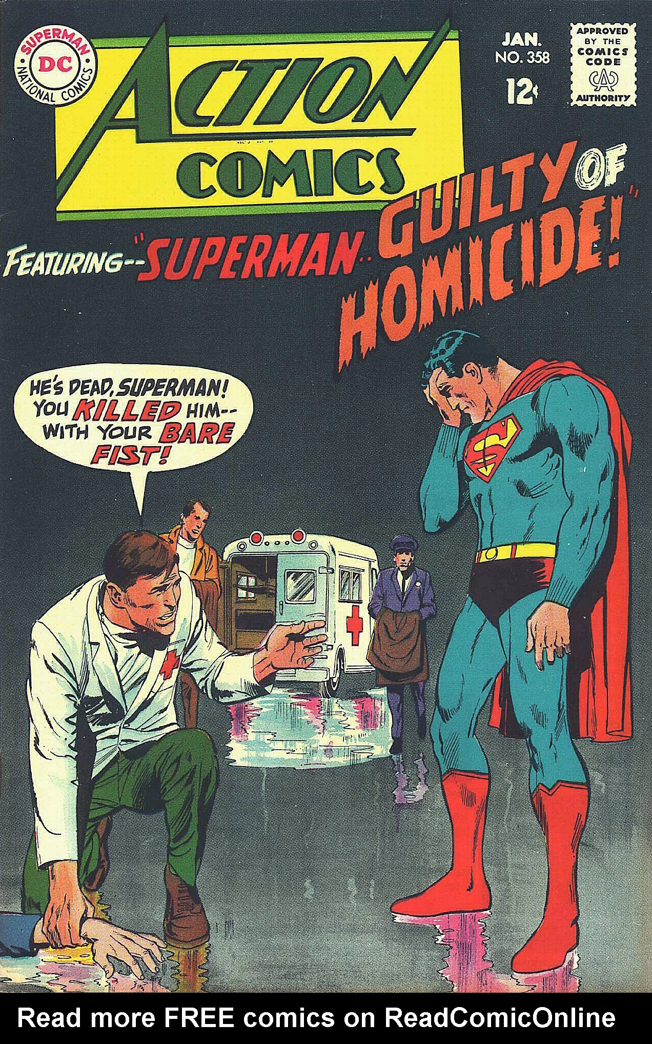 Action Comics (1938) 358 Page 1