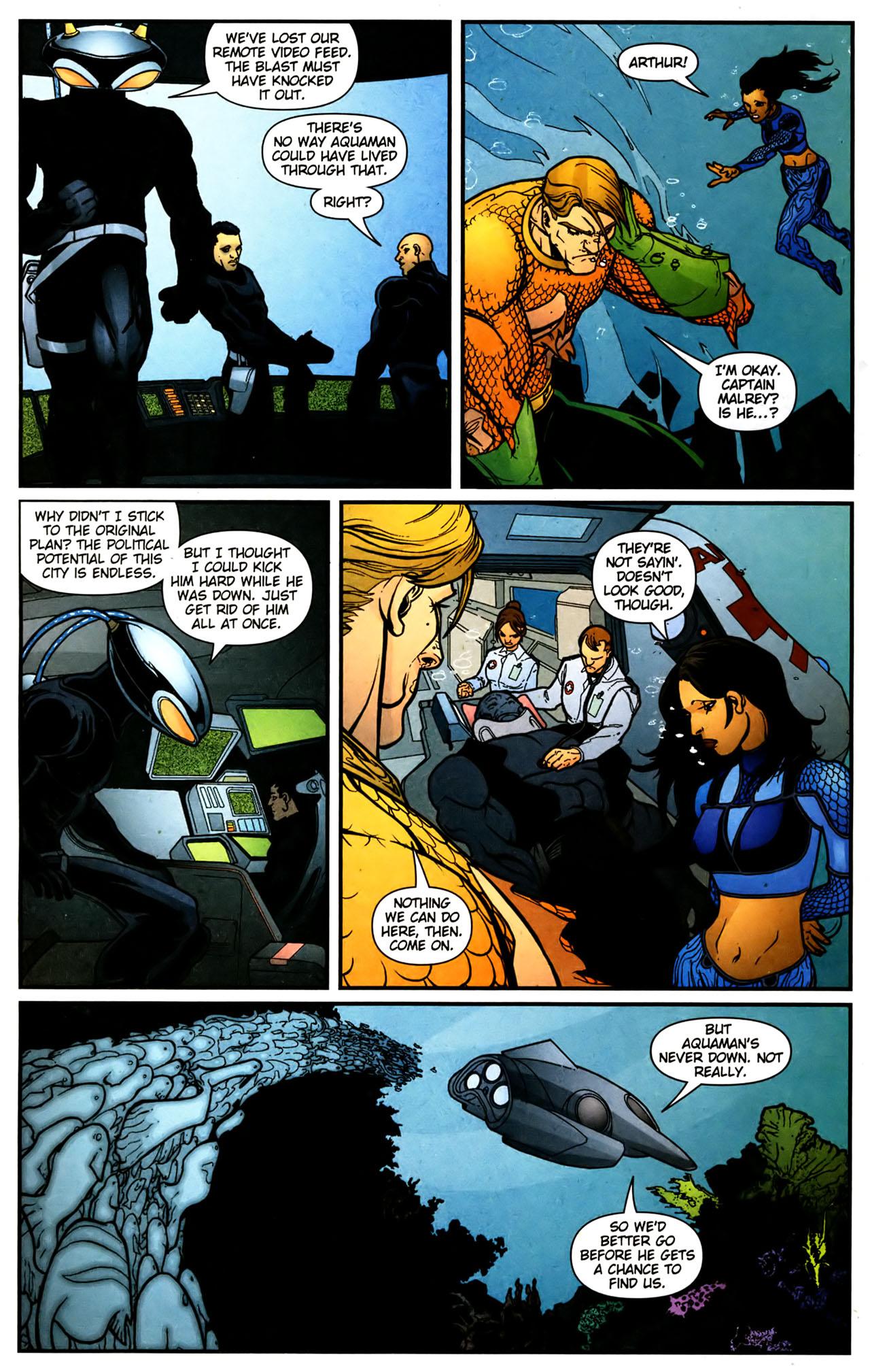 Read online Aquaman (2003) comic -  Issue #39 - 14