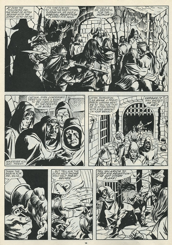 The Savage Sword Of Conan Issue #185 #186 - English 16