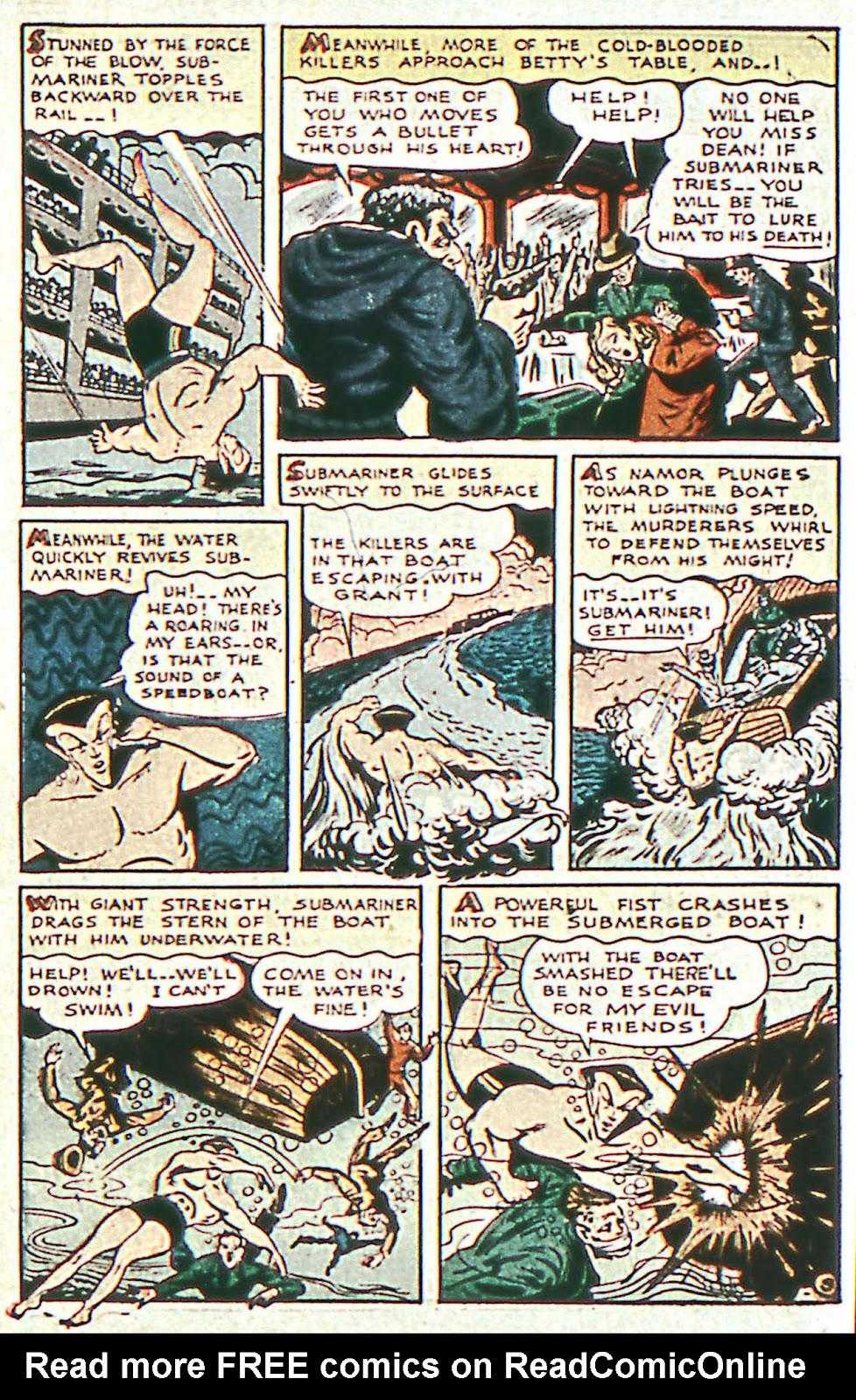 Sub-Mariner Comics Issue #16 #16 - English 11