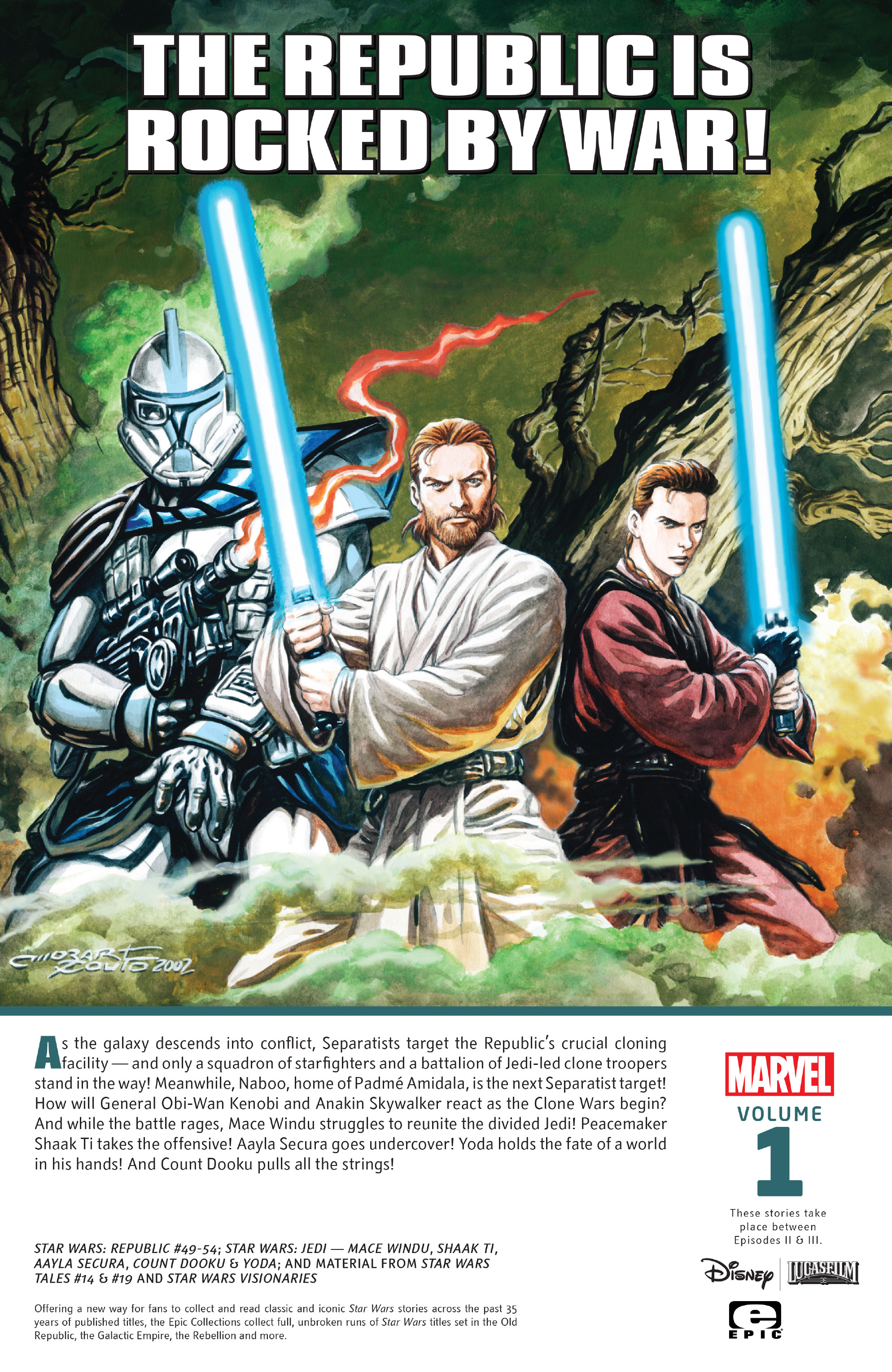 Star Wars Legends Epic Collection: The Clone Wars chap 2 pic 206